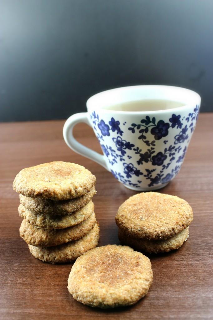 Mandelkekse Kekse vegan Rezept Bio Mandelmilch Mandeltrester
