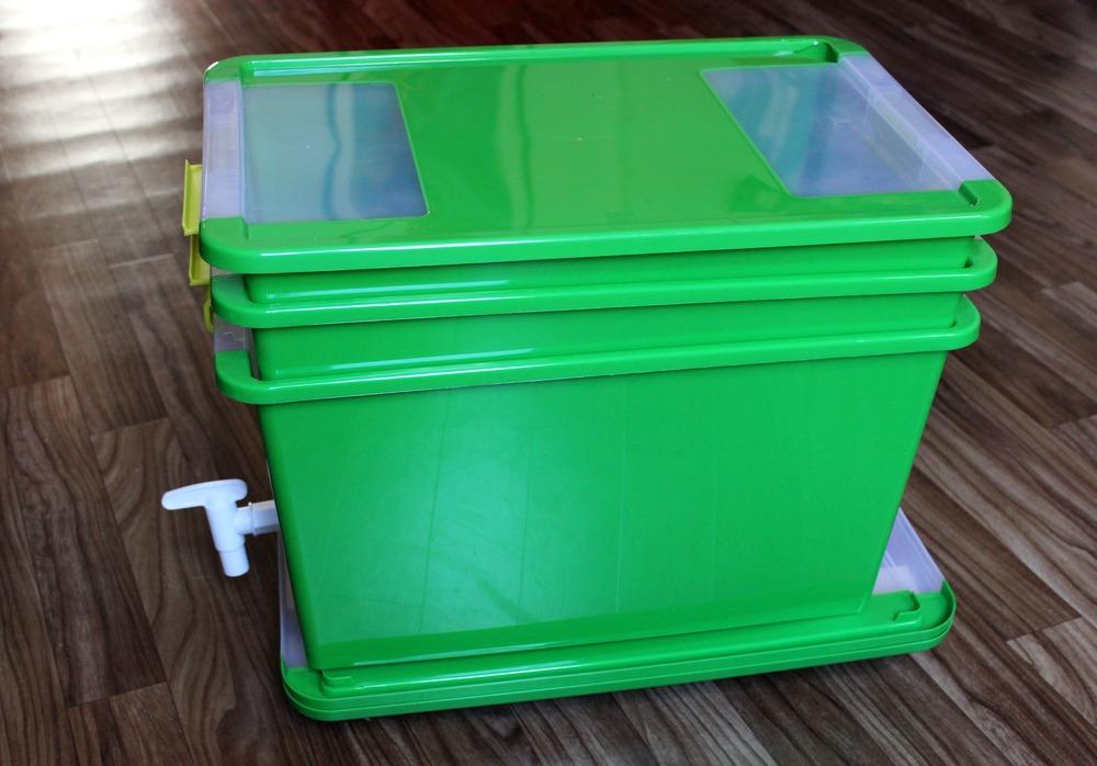 Wurmkiste wurmcafe wurmbox kompost wurmkompost anleitung selber bauen würmer 5