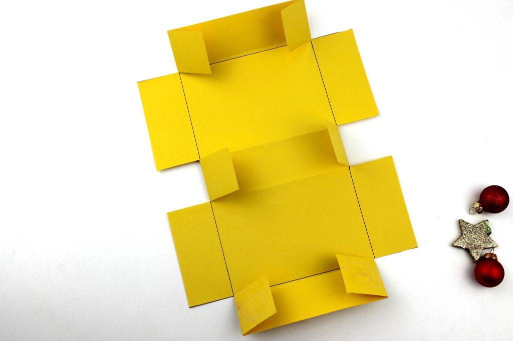 Vegane Erdnuss-Pralinen Schachtel selber basteln Anleitung Box Geschenk 91
