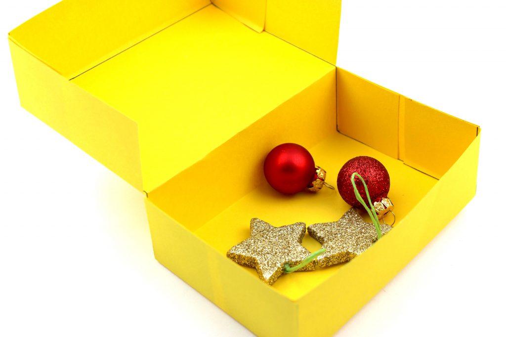 Vegane Erdnuss-Pralinen Schachtel selber basteln Anleitung Box Geschenk 92