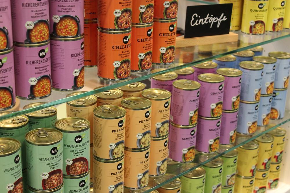 NAbio Suppen und Eintöpfe vegan bio