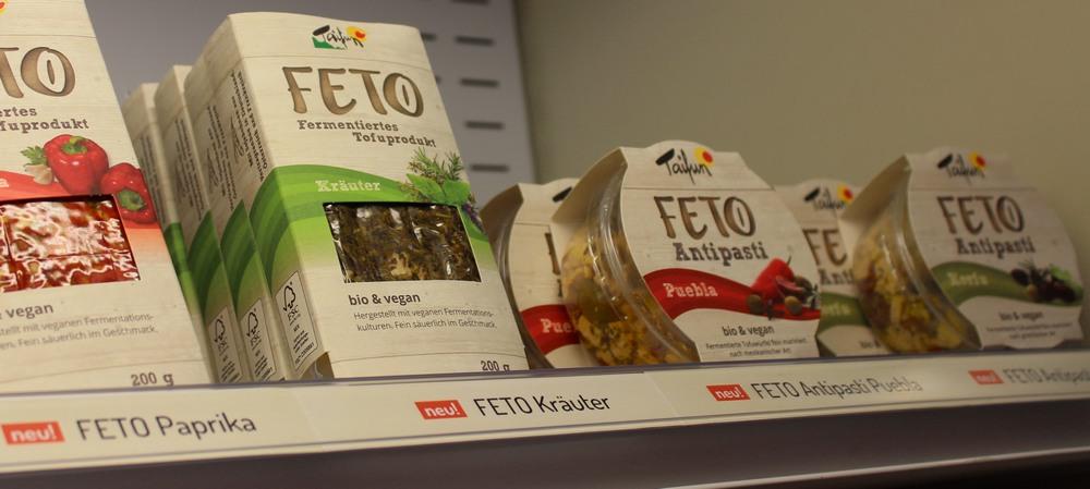 Taifun Feto Tofu fermentiert antipasti vegan bio