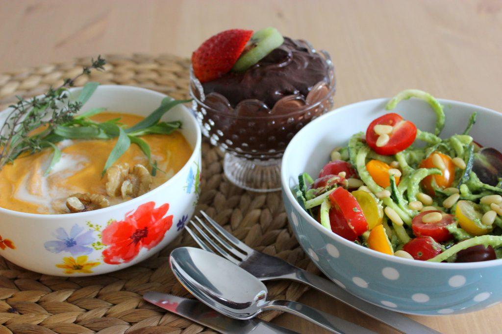 denns erbse zieht um ohne Küche rohkost rohvegan roh raw rezept vegan gemüse gesund healthy