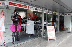 Kleiderladen des BRK in Hof (Saale)