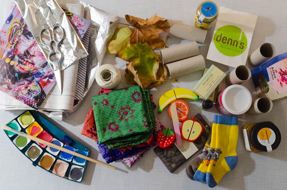 Weihnachtsgeschenke ohne Geschenkpapier verpacken - Bio Blog