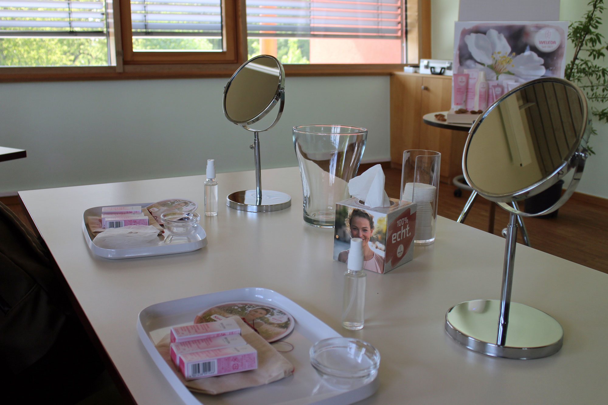 Mandelpflegeserie Workshop