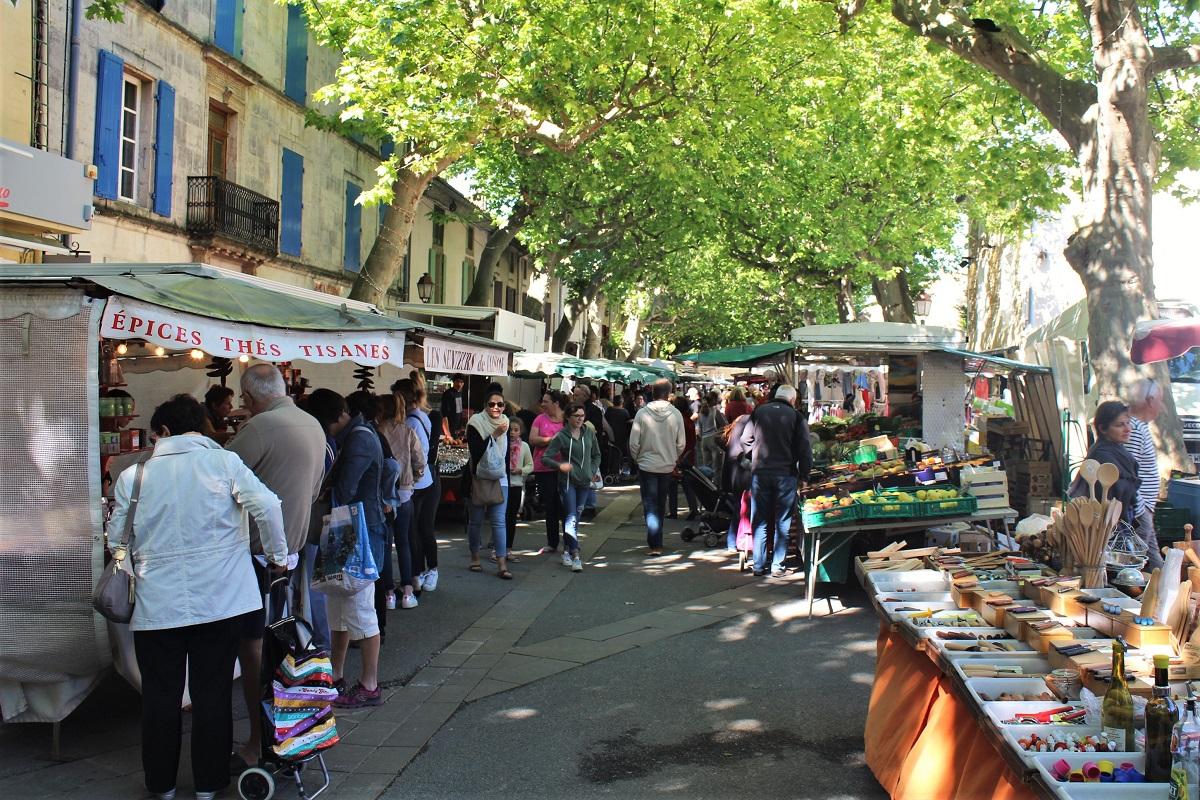Markt Südfrankreich