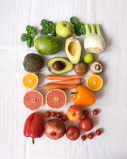 Verschiedenes Obst und Gemüse aus einer foodsharing Rettung